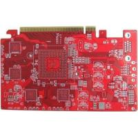 Quality Plating Gold Rogers4350B PCB double sided printed circuit board for sale