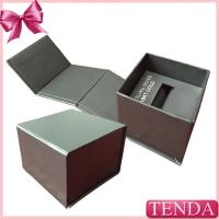 China Silver Golden Earring Ring Jewelry Jewellry Jewellery Jewel Storage Foldable Folding Paper Box with Holder on sale