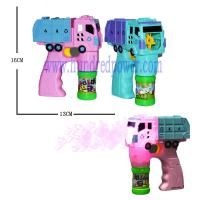 Outside Giant  Plastic Light Up Bubble Blaster For Wedding Truck Shaped Manufactures