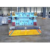 Precast Concrete Trackless Transfer Cart For Material Handling Customized Color Manufactures