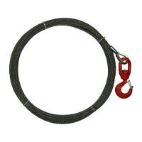 Spring Loaded Latch Rope , Wire Rope Winch Swivel Hook Multiple Sizes For Tow Truck Manufactures