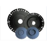 7 Diamond Circular Saw Blade With Flange , Wet / Dry Cut Stone Cutting Saw Blades Manufactures
