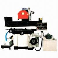 Rectangular table surface grinder with saddle moving horizontal shaft  Manufactures