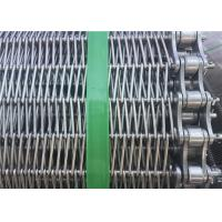 Customized Stainless Steel Wire Mesh Conveyor Belt With Chain SGS Listed Manufactures