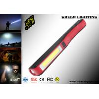 140 Lum IP65 LED Flashlight Torch Pen Style ABS Material Micro USB Charger Manufactures