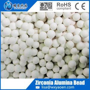 Grinding media supplier zirconia alumina bead Manufactures