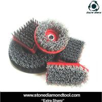 China Different Shapes Silicon Carbide Grinding Brush on sale