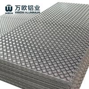 China 1100 1050 1060 Aluminium Chequered Plate , Aluminum Alloy Checker Plate on sale