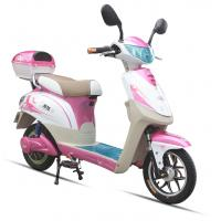 China 350W Pink Adult Electric Scooter , Battery Operated Scooter With 350W - 450W Motor on sale