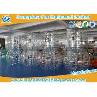 Inflatable Bubble Ball With Logo Printing , Human Bubble Football Manufactures