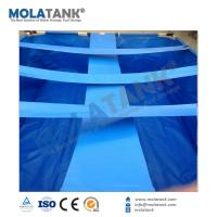 China mola tank 100% virgin HDPE woven fabrice Water Tank Liners /floating grow bed liners/tilapia fish farm ponds on sale