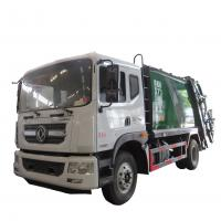 China New dongfeng 4*2 12-14m3 refuse collector solid waste garbage refuse truck for sale, compacted garbage truck for sale on sale