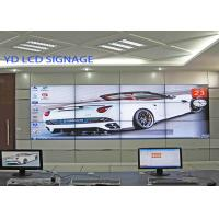 Commercial Wall Mounted Digital Signage , LCD Media Wall With High Brightness Manufactures