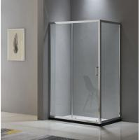 Aluminium shower enclosure 1200*700 with two sliding doors and one fixed panel Manufactures