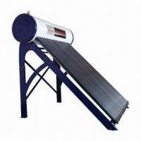 China Integrative pressurized solar water heater with 1.5mm galvanized sheet frame on sale