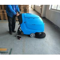 Single Brush Battery Powered Floor sweeper For Workshop Low Noise Manufactures
