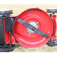 China Remote Control Petrol Self Propelled Lawn Mower For Courtyards / Streets / Parks on sale