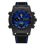 Black Case Multi-function Men's Business Sports Alloy Quartz Movement Watch Men Dual Time Watch Manufactures