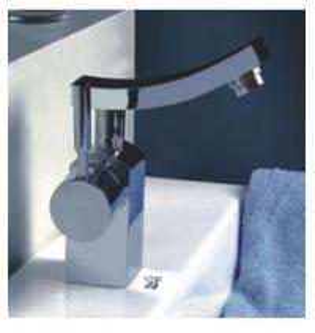 Brass Chrome Bathroom Vessel Sink Faucets Ceramic Cartridge Contemporary Basin Mixer Manufactures