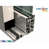 AA6061 T6 Aluminium Extruded Profile Powder Coated For Doors Manufactures