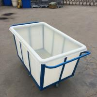 China K500  Customized roto molded durable PE food grade  Plastic cloth buggies on sale