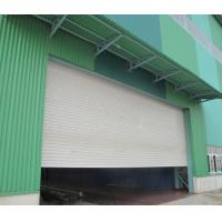 Sound And Insulated Aluminum PU Roller Shutter Garage Doors With Customized Color Manufactures