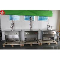 Stainless Steel Semi Automatic Aerosol Filling Machine for Leather Spray Can Filling Manufactures