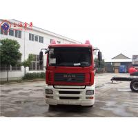 Sinotruk HOWO MAN Chassis Water Tanker Fire Truck 265kw With Total Side Girder Manufactures