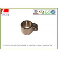 Stainless Steel / Iron Metal Parts Machining Brass Forging Connector Used For Loom Manufactures