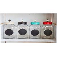 wholesale cookie jar, glass storage jar with lid, glass container Manufactures