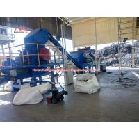 High Output Tire Grinding Machine Tire Steel Separator Tire Shredder 1.5TPH Manufactures
