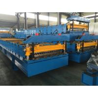 Wall Panel / Roof Panel Roll Forming Machine 380V 50Hz 3 Phases Computer Control