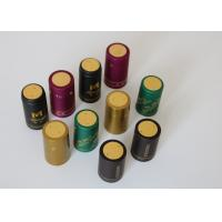 Olive Oil Glass Heat Shrink Bottle Caps Gold Plating With Shrink Sleeve Manufactures