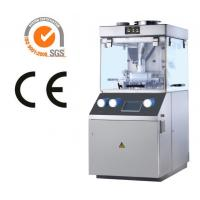 Single Rotary Tablet Compression Machine , Force Feeder System Tablets Manufacturing Machines Manufactures