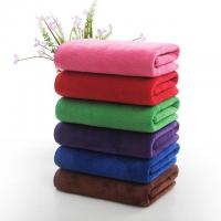 Microfiber Filling Hotel Collection Bath Towels Rectangle Shape 1200g Manufactures