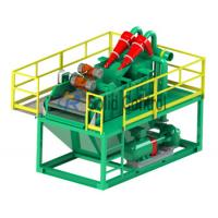 China Piling and Drilling Mini size mud recycler shale shaker mud desander, centrifugal pump on sale