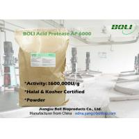 High Concentrated Powder Acid Protease AP-6000 with Halal and Kosher Certificate from China Manufactures