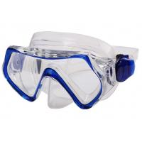 Multi Color Youth Kids Diving Mask With Clear Vision Ergonomic Design Manufactures