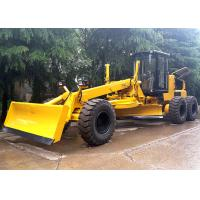 Self Propelled Articulated Motor Grader 215 Hp With Front Blade / Rear Scarifier Manufactures