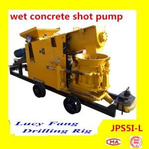 Powerful JPS5I-L Wet Concrete Shot Pump Manufactures