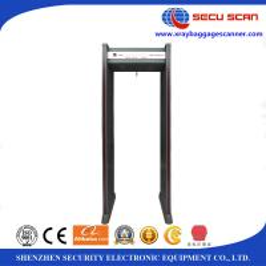 China Custom Door Frame Metal Detector / Security Walkthrough Metal Detector , CE ISO Approved on sale