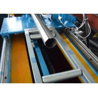 China PLC Octagonal Pipe Rolling Shutter Profile Machine With Flying Saw Cutting on sale