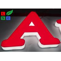 RAL Color LED Channel Letter Signs High Lighting Uniformity For Interior Signage Manufactures