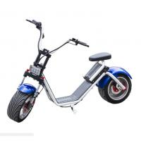 Harley Citycoco self Balance Electric Scooter with Fat Tires , LG lithium battery Manufactures