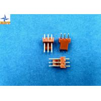 Single Row Wafer Connector Wire To Board Pitch 2.54mm Vertical Type Shrouded Header Manufactures