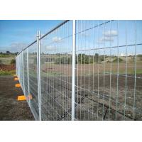 China Galvanized Steel Temporary Fencing Panel Alkali Resistance With 50x150mm Mesh Size on sale