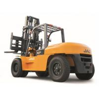 Large Capacity Counterbalance Forklifts , 10 Ton JAC Forklift China  , Heavy Machinery Forklift , Diesel Forklift Manufactures