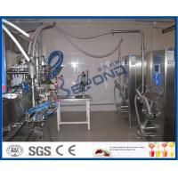 Buy cheap Industrial 1000l Ice Cream Making Machine For Ice Cream Processing Line from wholesalers
