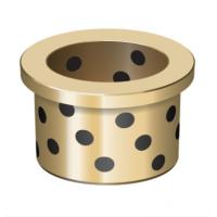 Plain Flanged Bushings Oilless Bearing Washers And Plates For Hot Conveyors Application Manufactures
