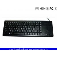China Plastic Integrated Industrial Computer Keyboard built with laptop style key and Trackball on sale